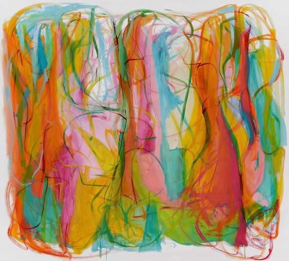 The eternity of Her Bild Ihres Kunstwerks an der Wand