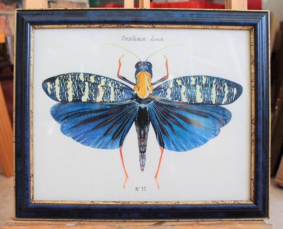 N°11 - Monachidium Lunum Immagine della tua opera d'arte appesa al muro
