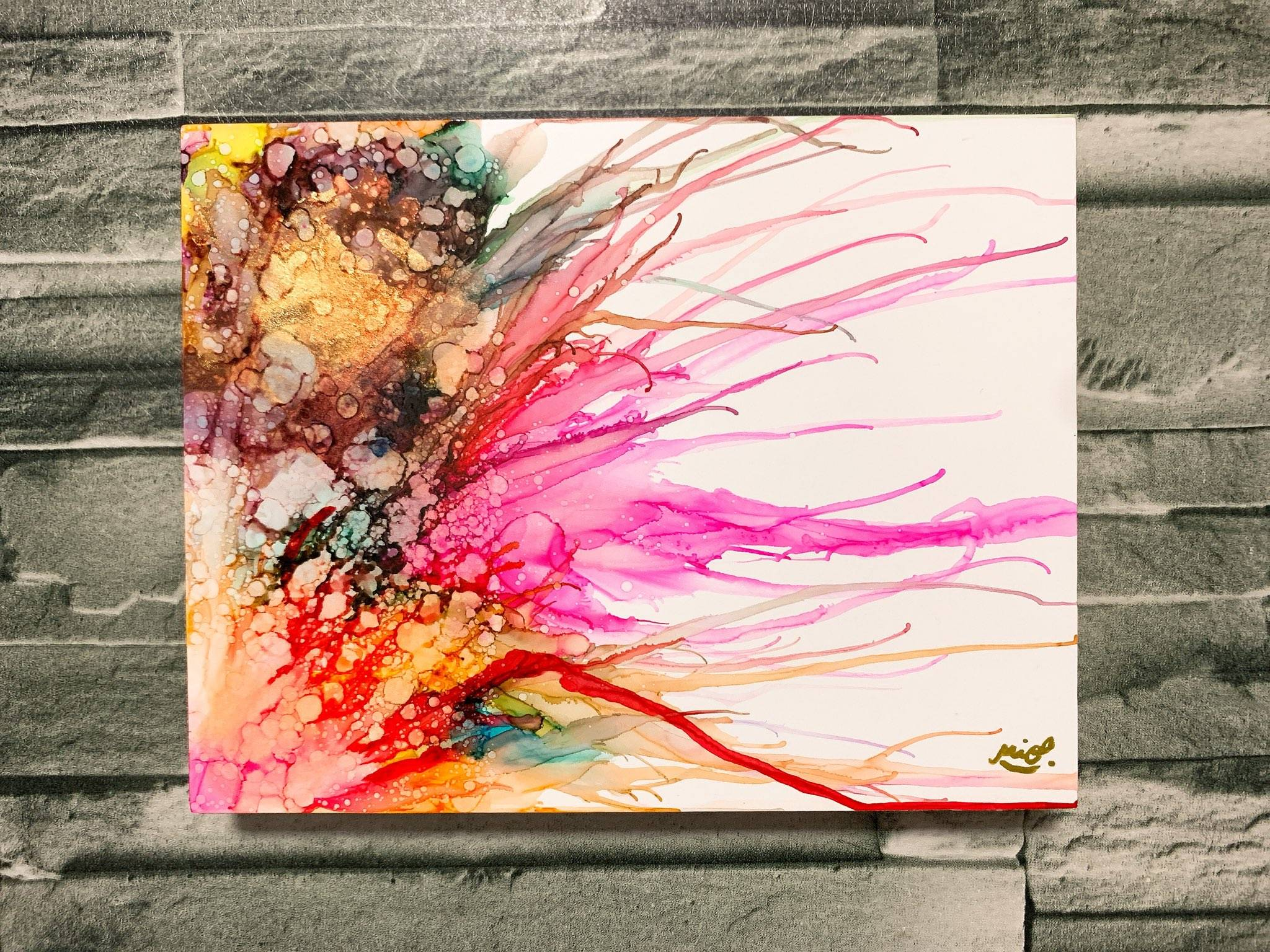 Free Try Image of your art work hanging on the wall