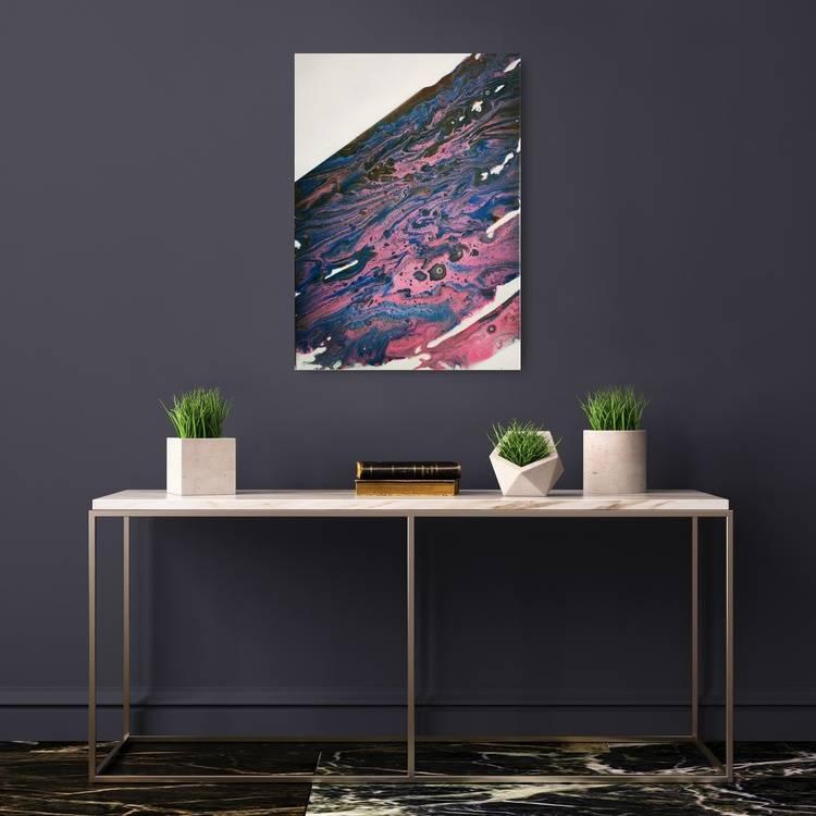 Purple- Blue/ Untitled