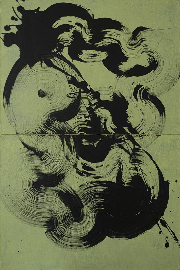 Abstraction 11 あなたの作品が壁にかかっているイメージ