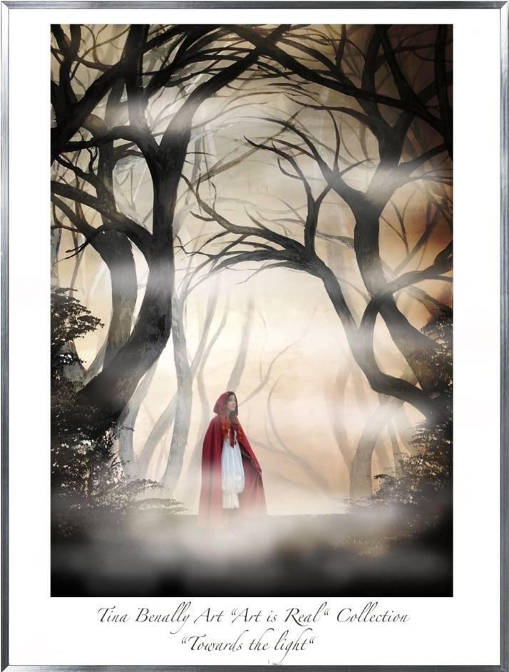 """Tina Benally Art """"Art is Real"""" Collection """"Towards the light"""""""