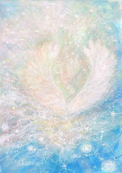 Light portrait - angel