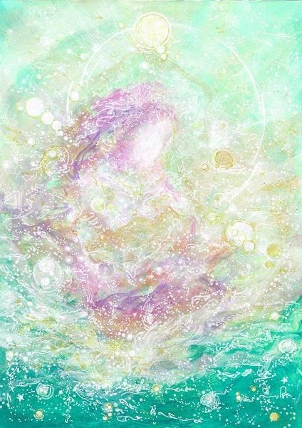 Light portrait - Bodhisattva