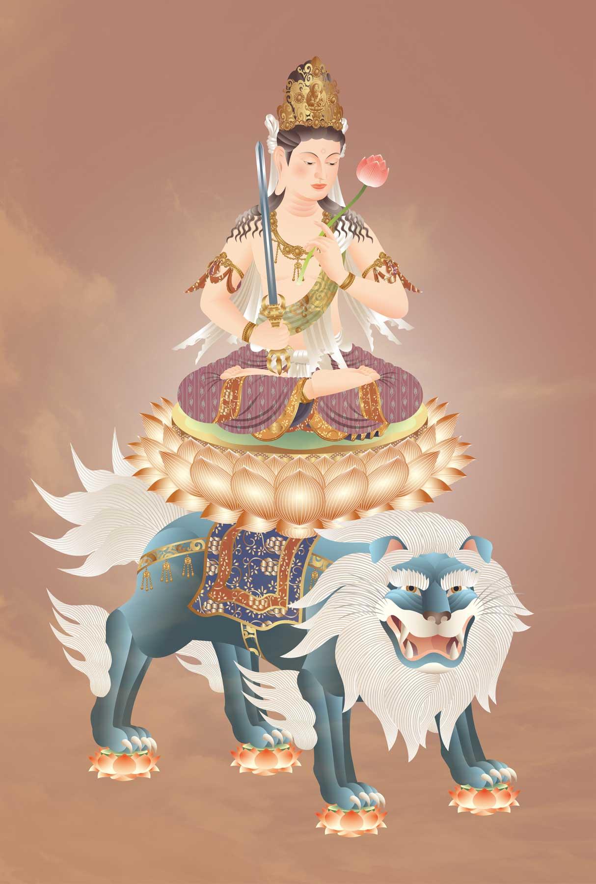 Wenshu Bodhisattva