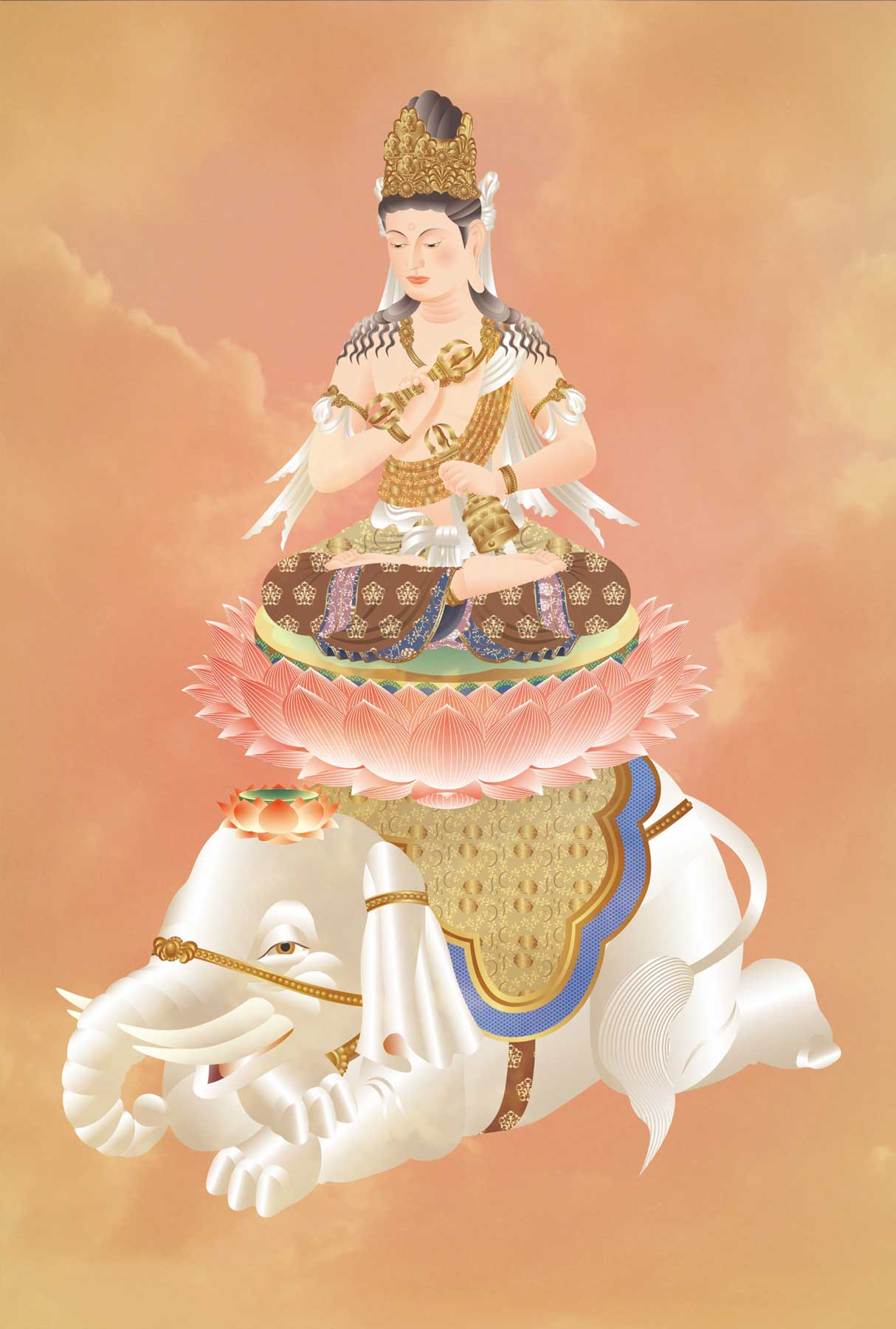 Fugen Bodhisattva