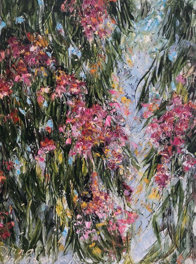Bloomy Eucalyptus Tree
