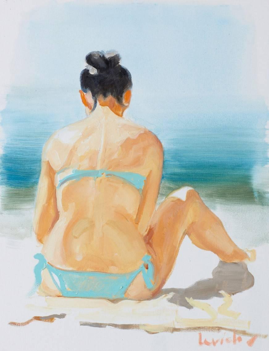 Sketch - IX (Hot Summer) Bild Ihres Kunstwerks an der Wand