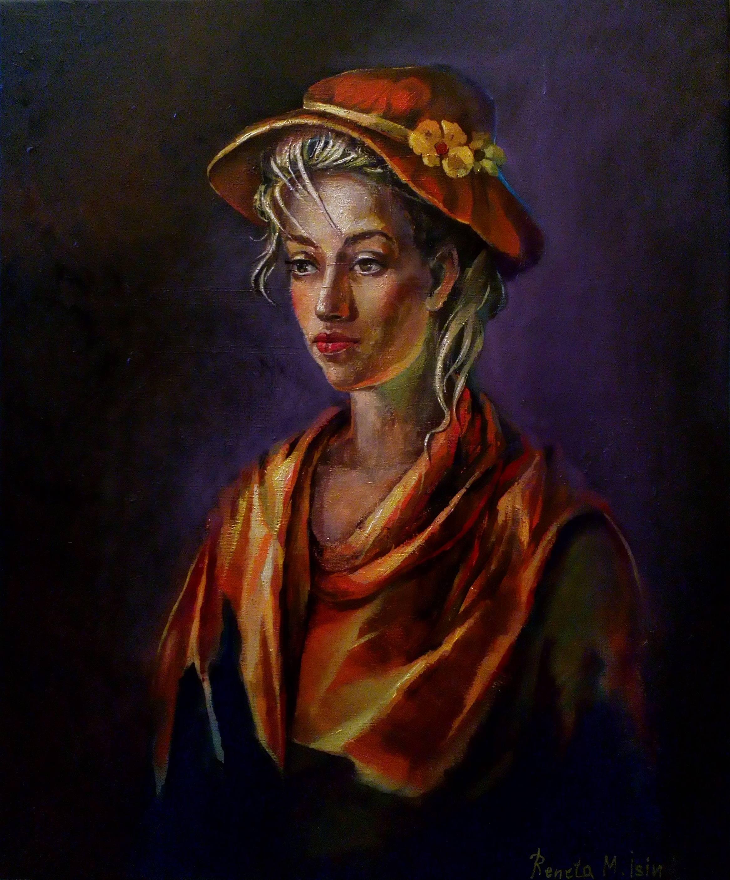French Lady Portrait