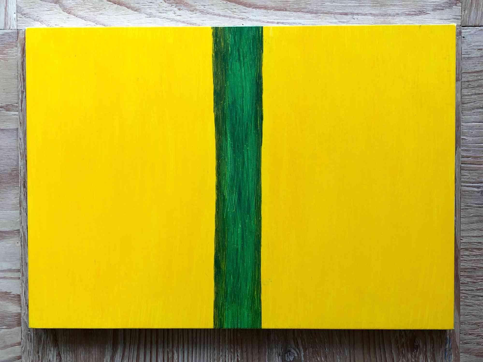 Yellow/Sap green (Pansy)