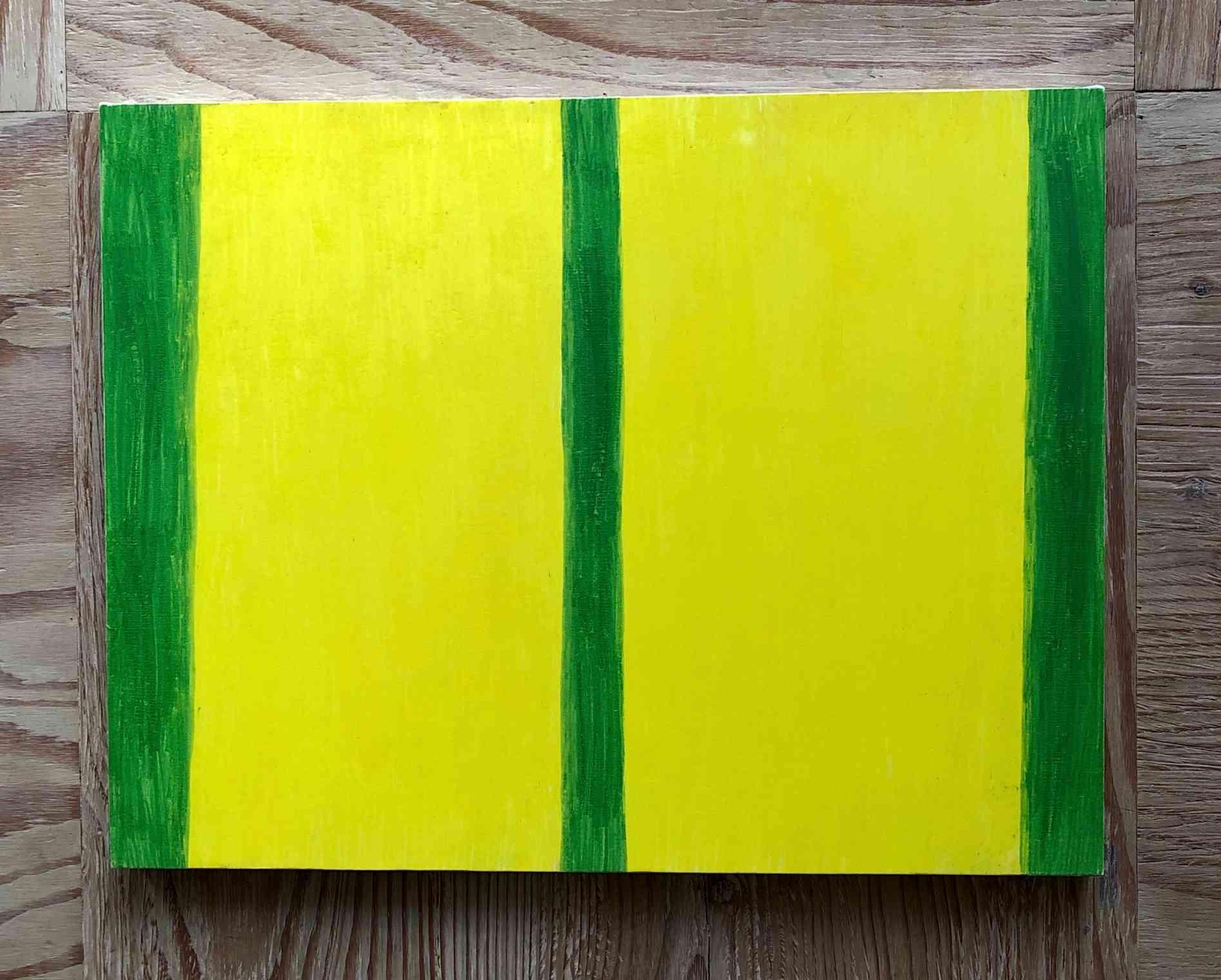 Glass green/Lemon yellow (Himeryu Ukinka)