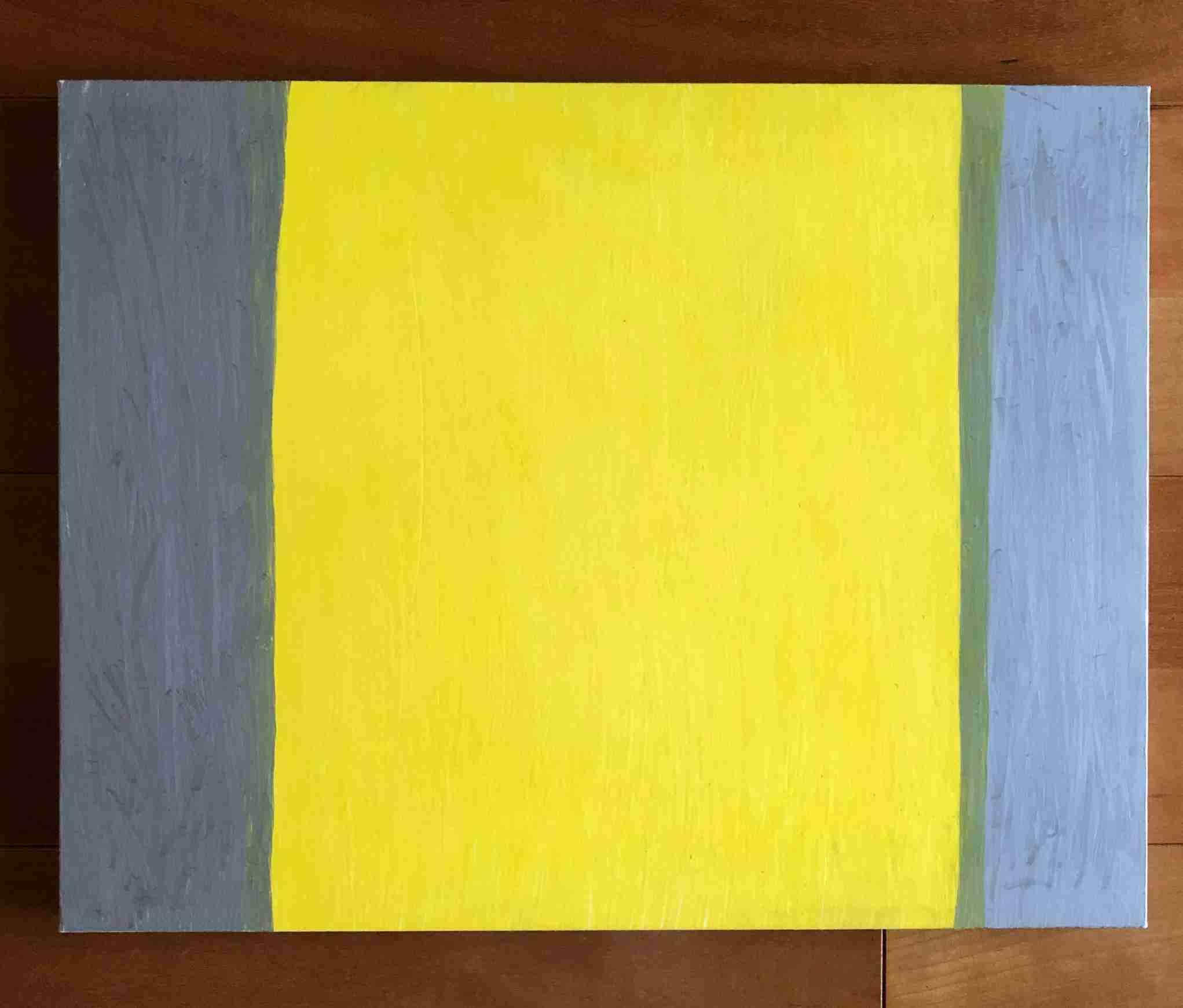 Silver/Lemon yellow