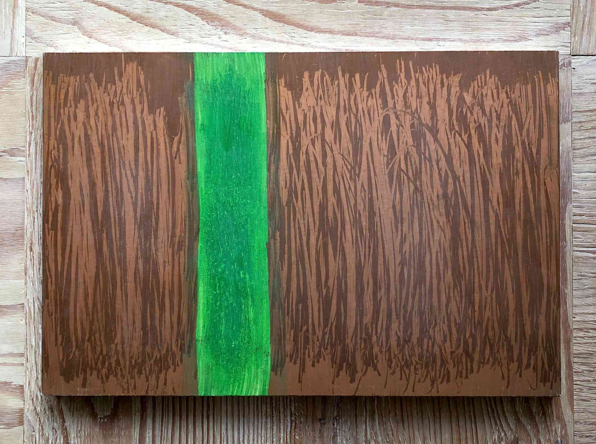 Kappa/Moss green