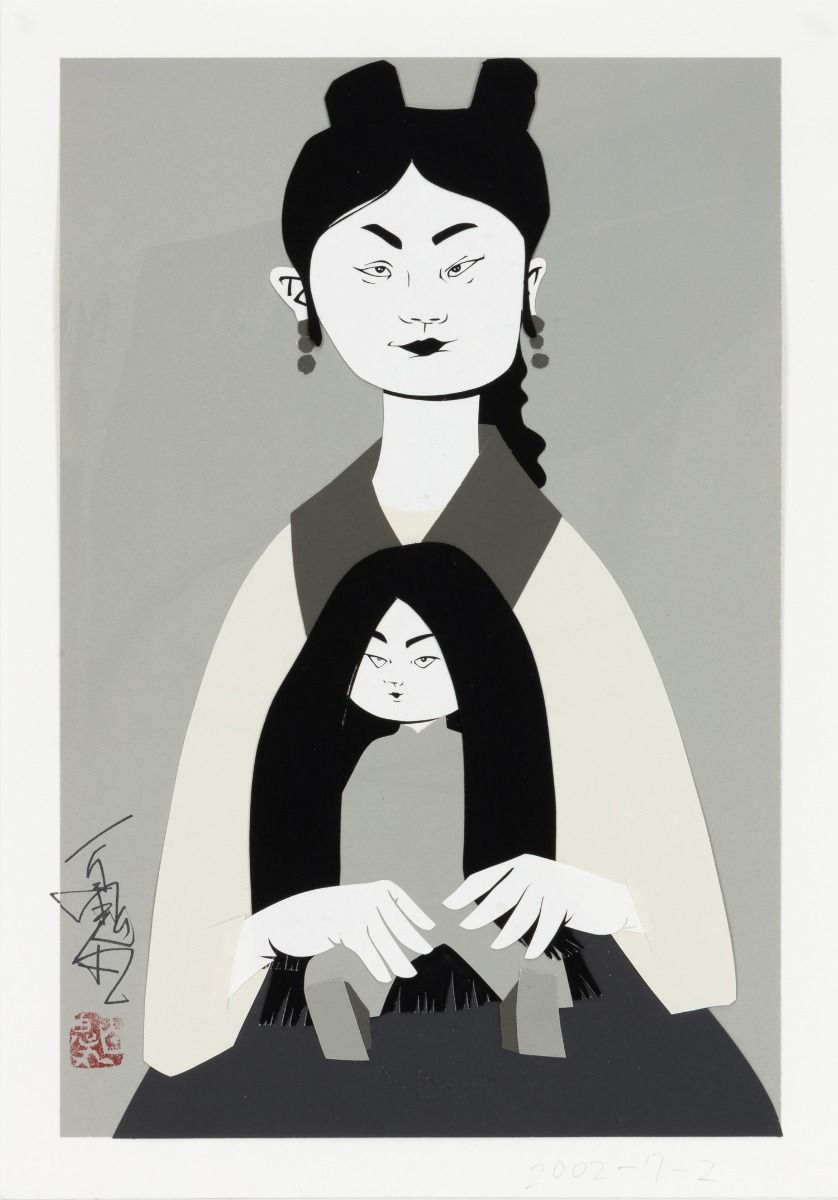 Mother and a child