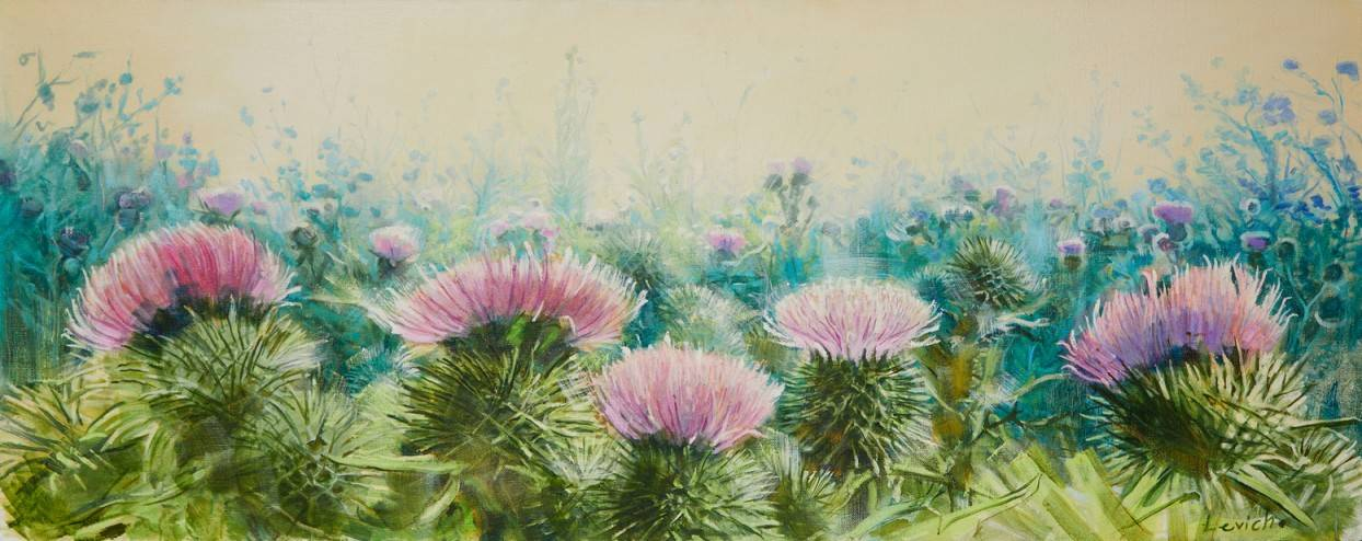 Flower of Scotland Image of your art work hanging on the wall
