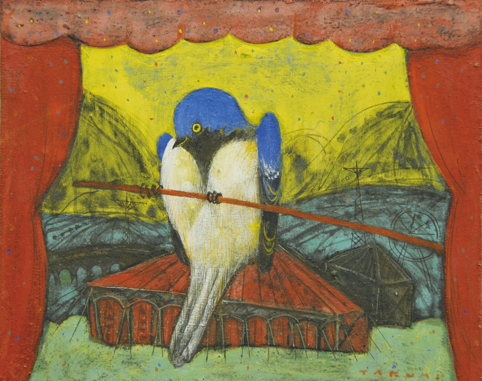 L'Oiseau bleu (A blue bird)