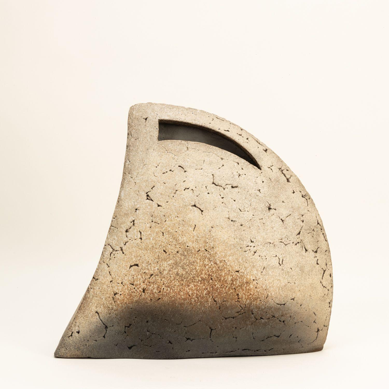 Carbonized vase