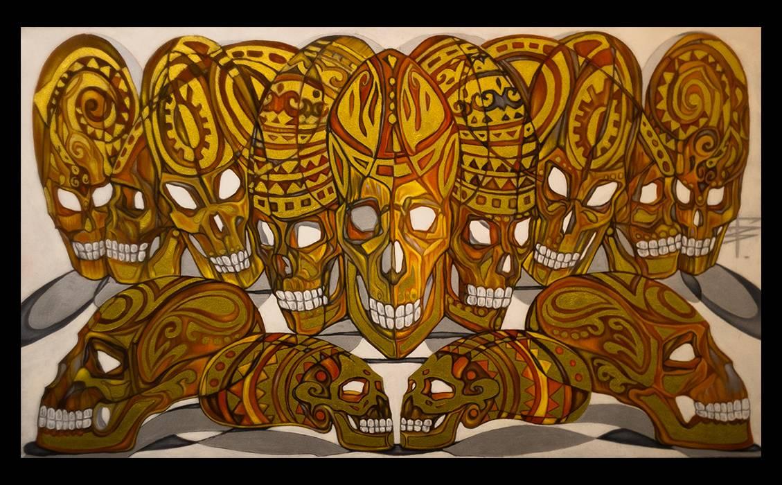 Thirteen Skulls