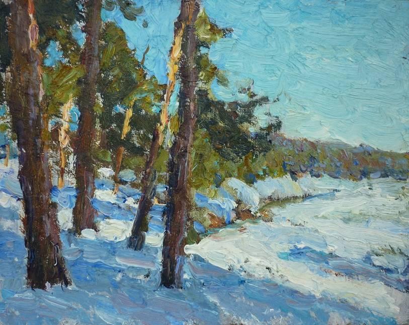 spring landscape Bild Ihres Kunstwerks an der Wand