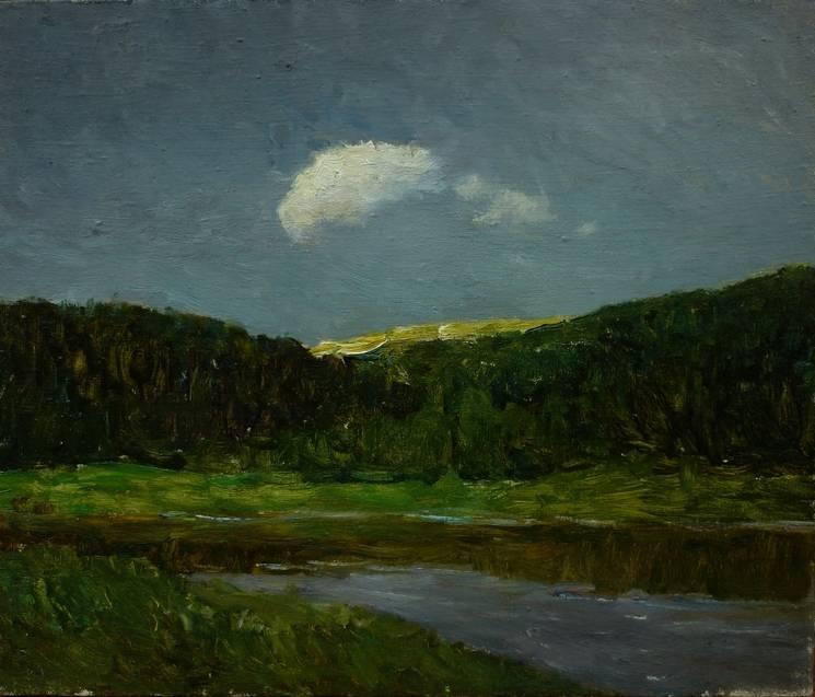 cloud of hope Bild Ihres Kunstwerks an der Wand