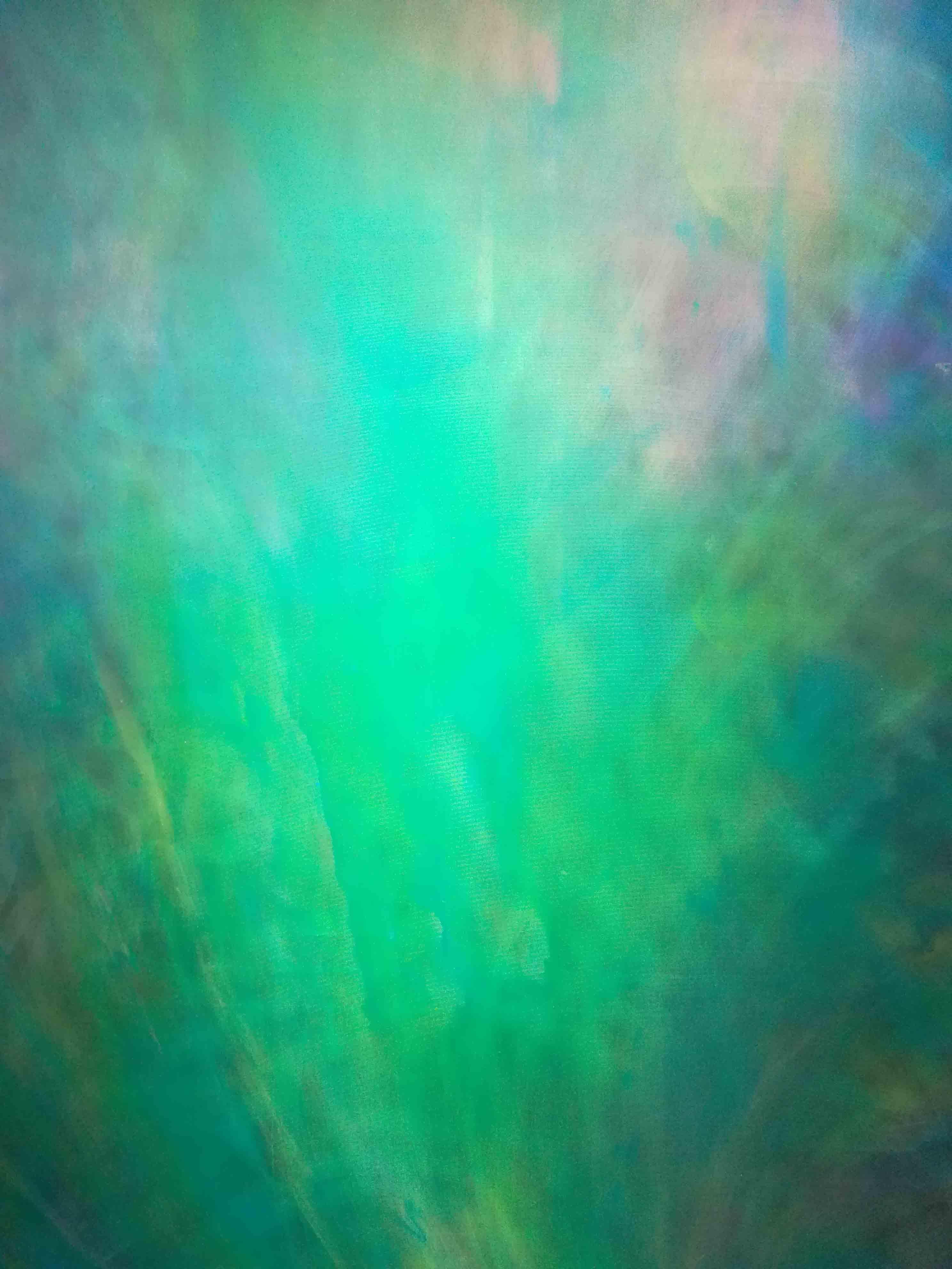 IDEA EARTH Green aura