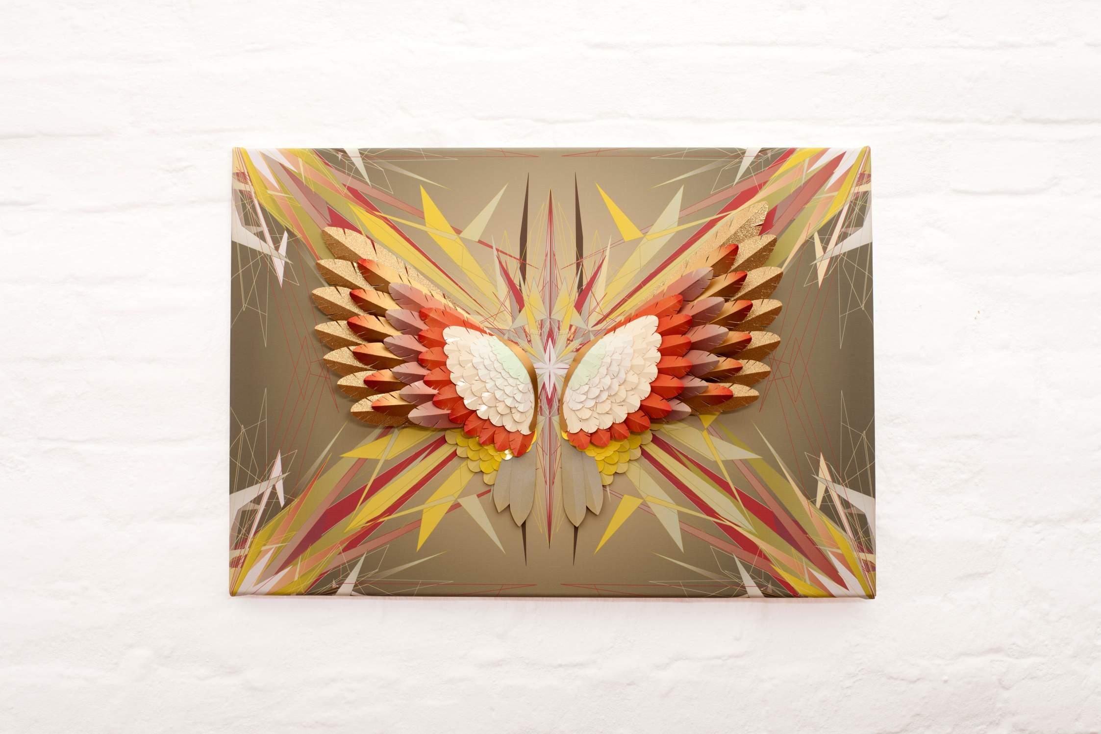 Gold Fire Pheonix, Plate #3