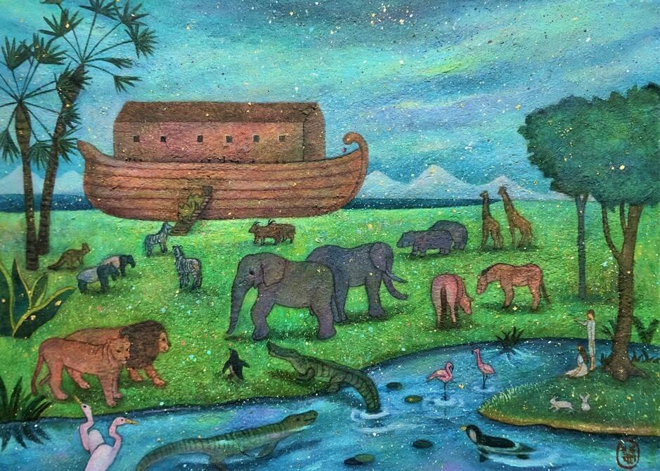 Noah's ark I (楽園へ)