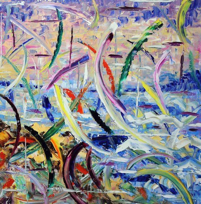 Sublimazione Olio su tela 120x150cm