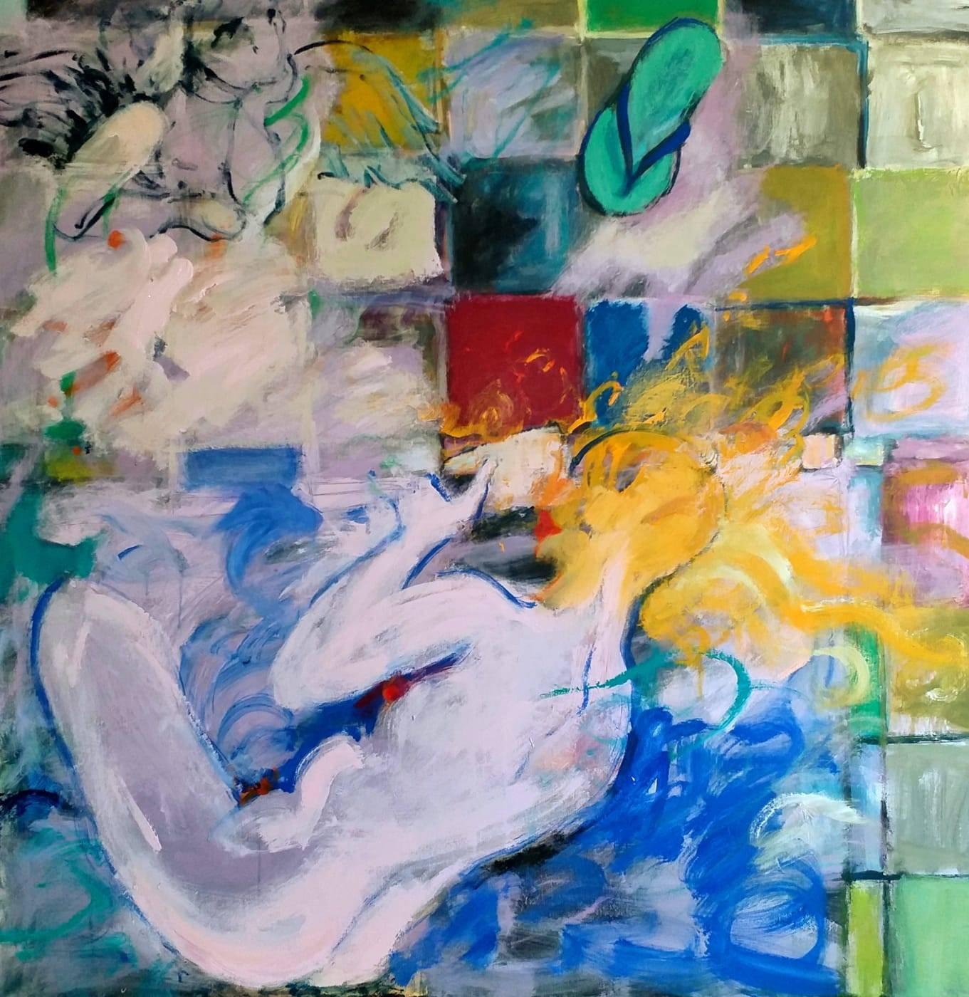 Venus Bild Ihres Kunstwerks an der Wand