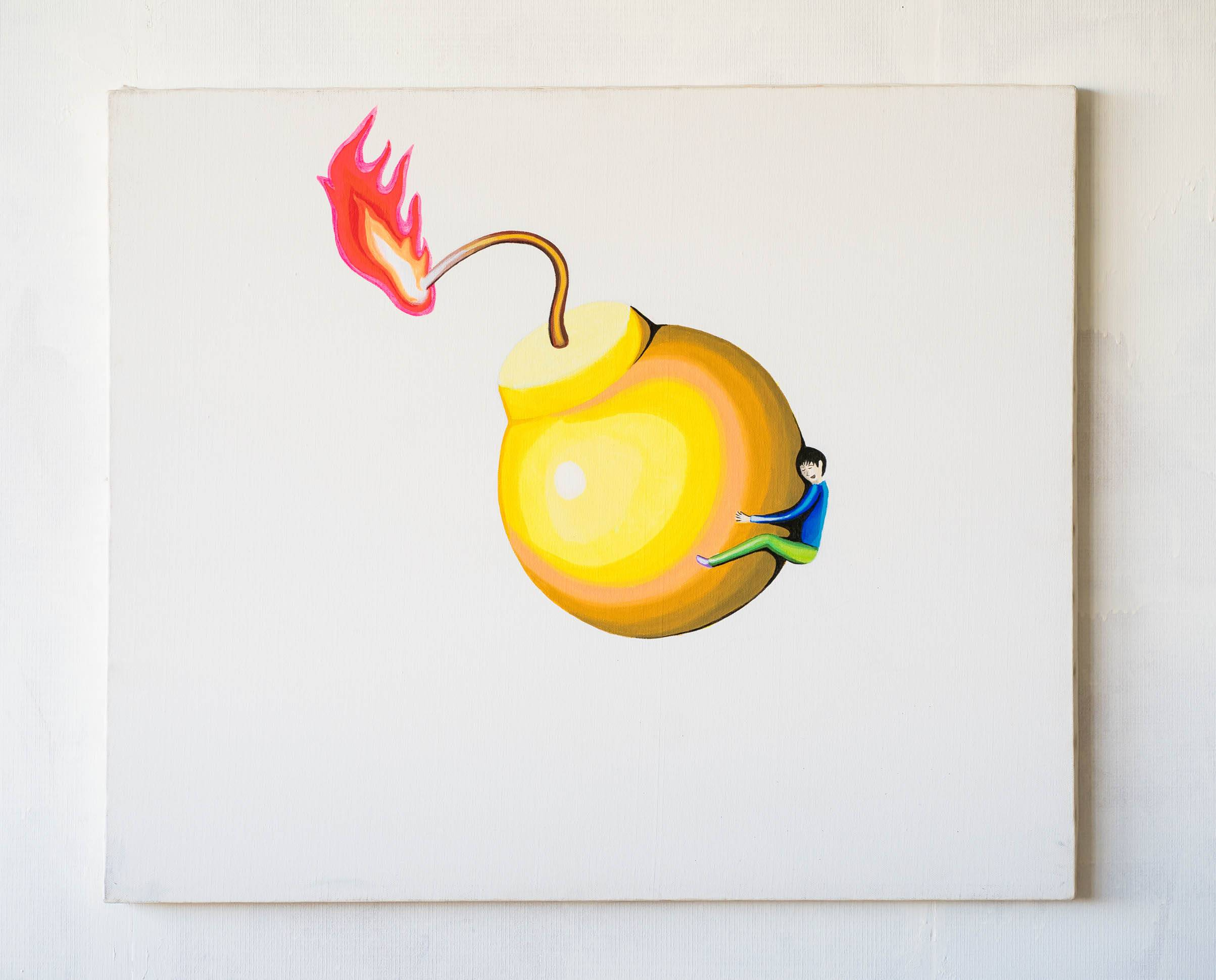 Yellow Bomd and Child