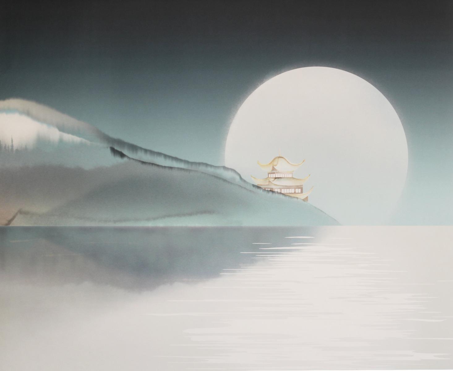 """洞庭秋月 """"Dōteishūgetsu"""""""