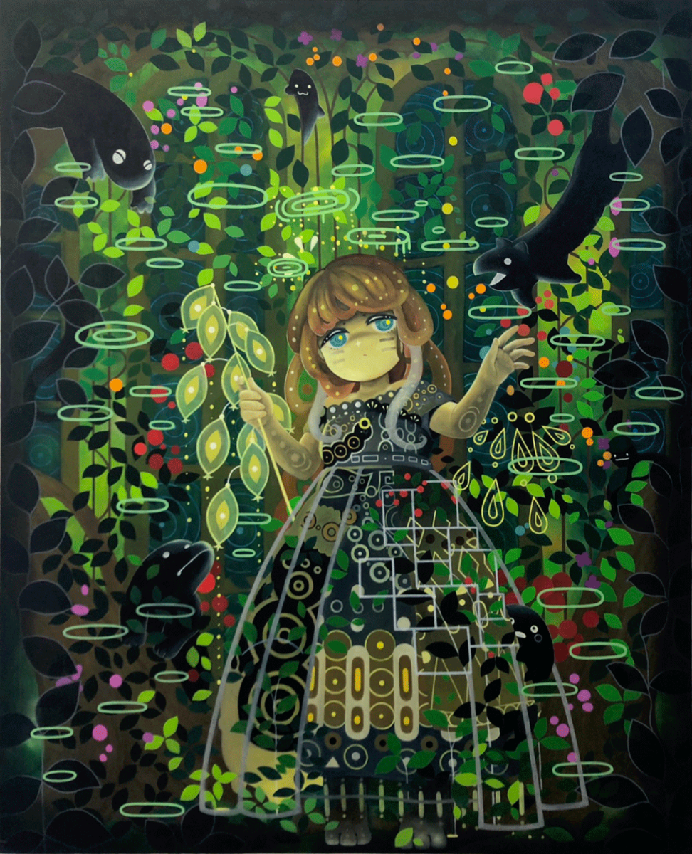 Imaginative botanical garden