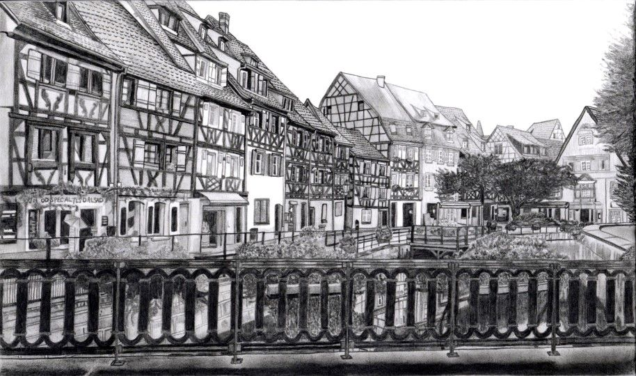 Townscape of Colmar