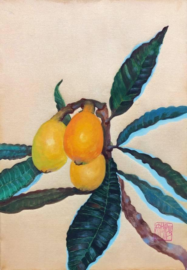 An Asian plum枇杷