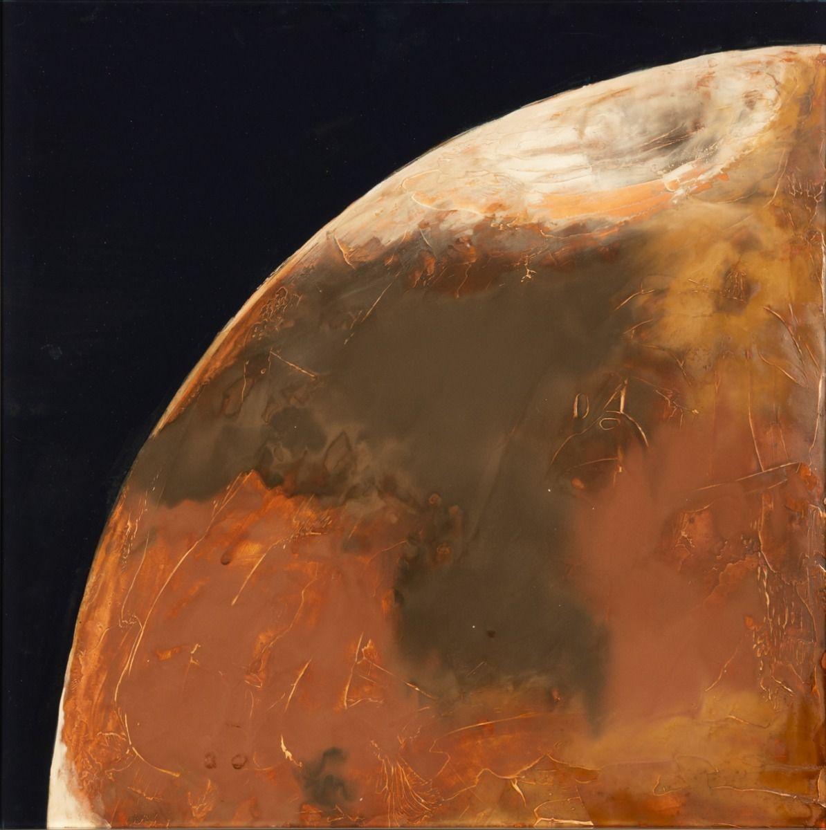 Mars あなたの作品が壁にかかっているイメージ