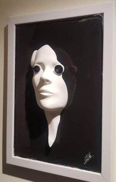 Past Present Future Frame part of sculpture