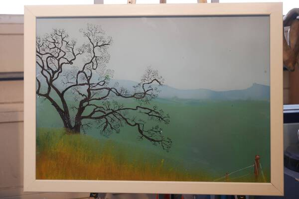 Sierra Foothills Frame is part of painting