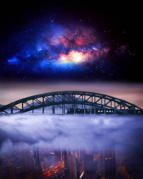 Journey across the clouds