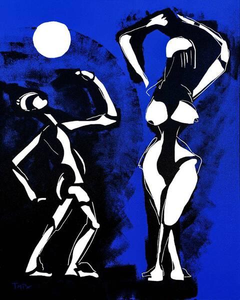 Dance of the full moon