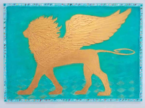 World Empire Holy Beast Golden Griffon Okinawa Sea 「to make good out of evil corona」