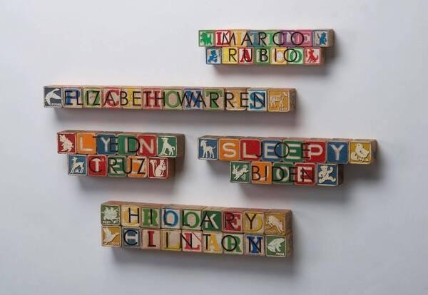 Donald J. Trump Alphabet Blocks (Series)