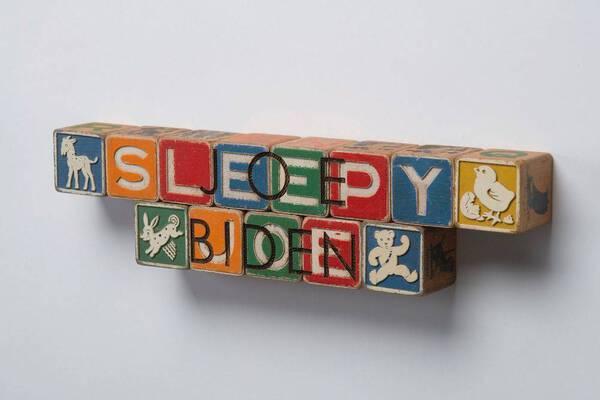 DJT Alphabet Blocks: Joe Biden