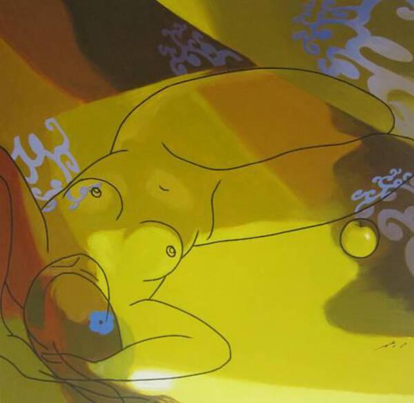 Decorated Nude (1)