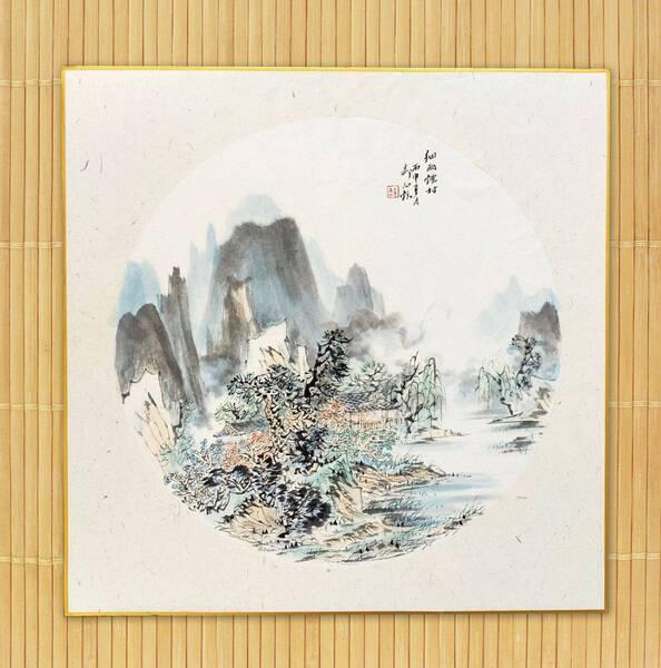 07 - 细雨烟村 / A village in drizzle