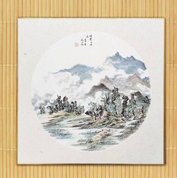 10 - 暖雲入清溪 / Warm clouds with limpid stream