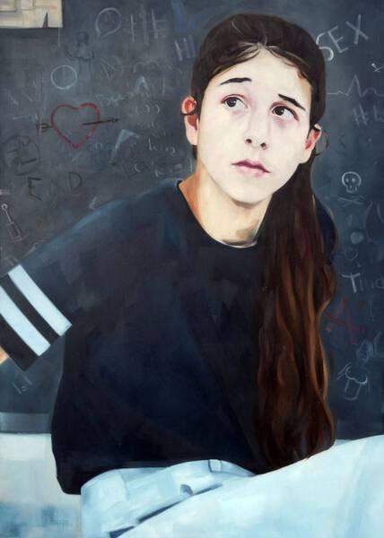 teenage mural