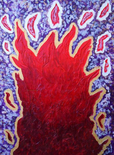 Red flame #3