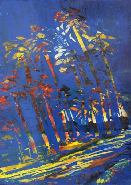 Cobalt Palms