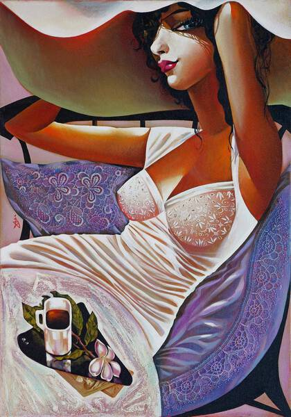 SERIES ART DECO, Relaxing Evening