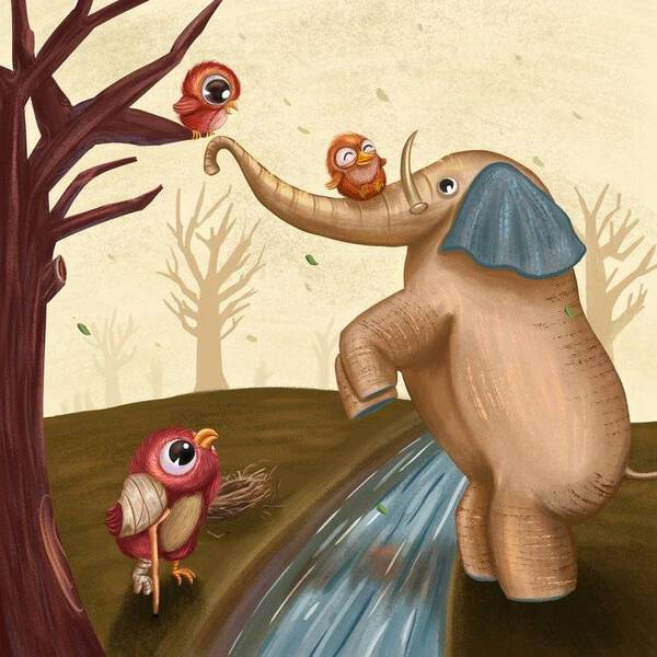 Elephant to the rescue